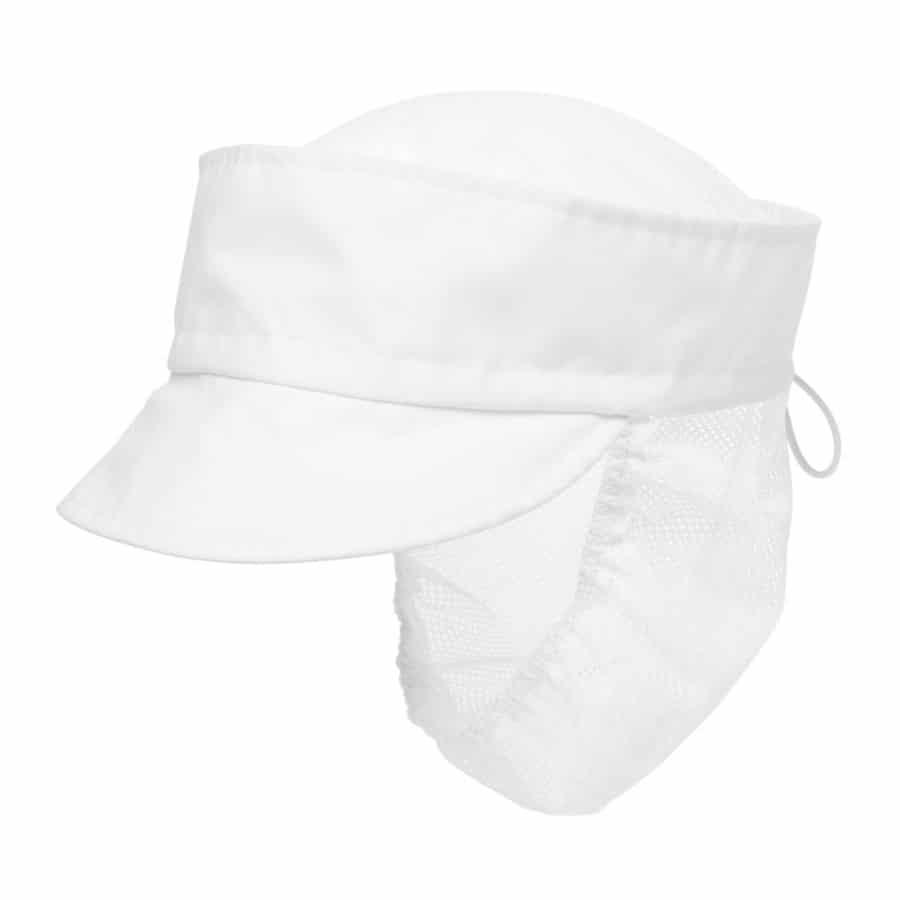 Caps hårnett Onesize Hvit