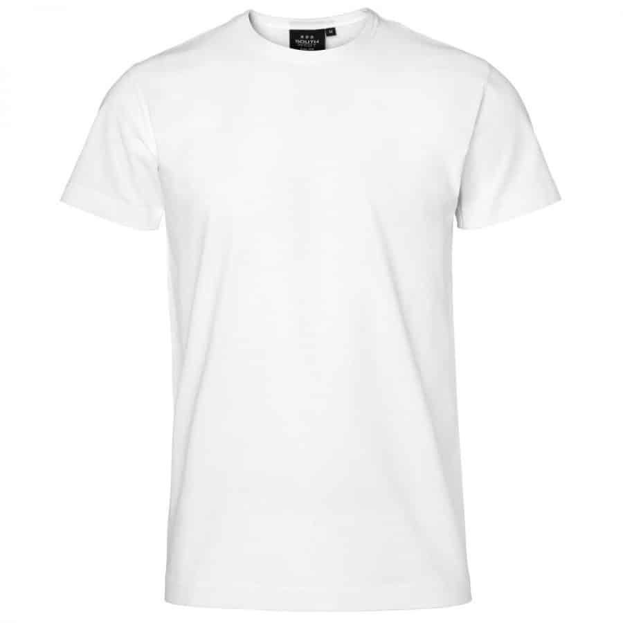 Segers T-skjorte herre Hvit