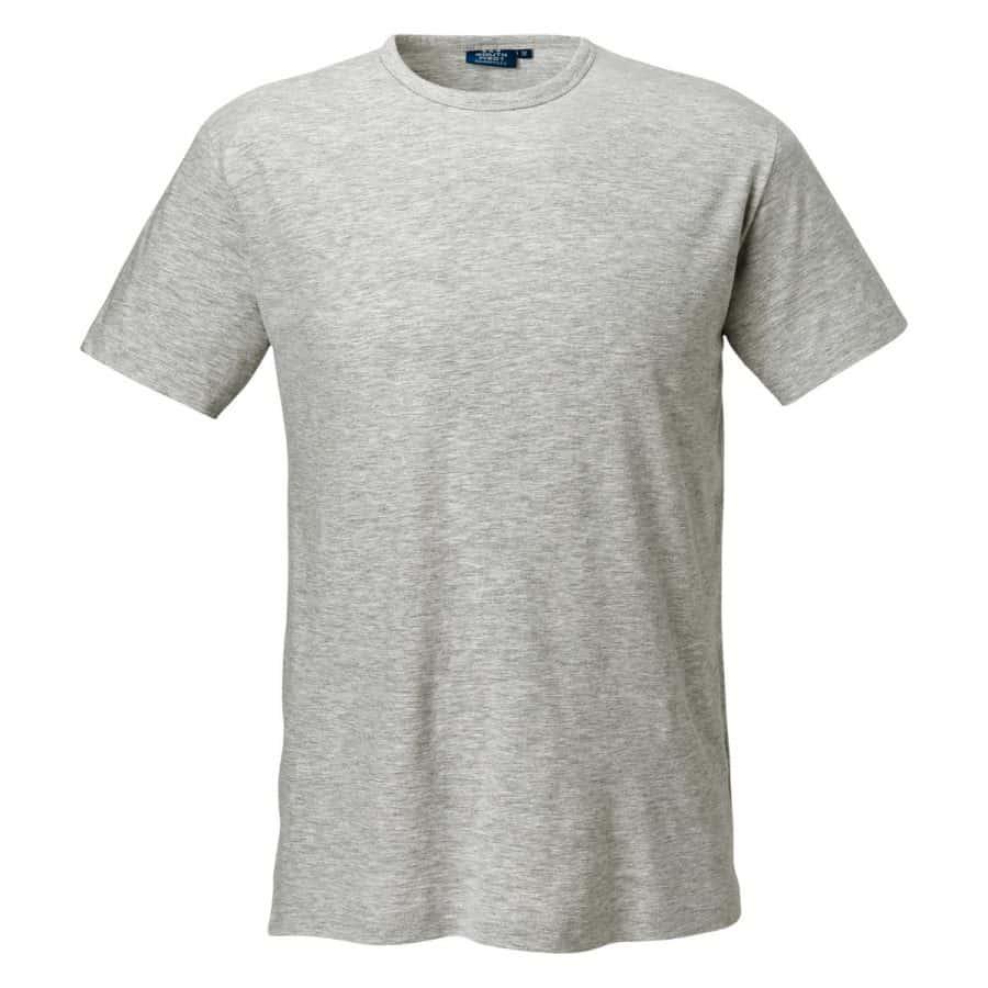 Segers T-skjorte herre Lysegrå Melert