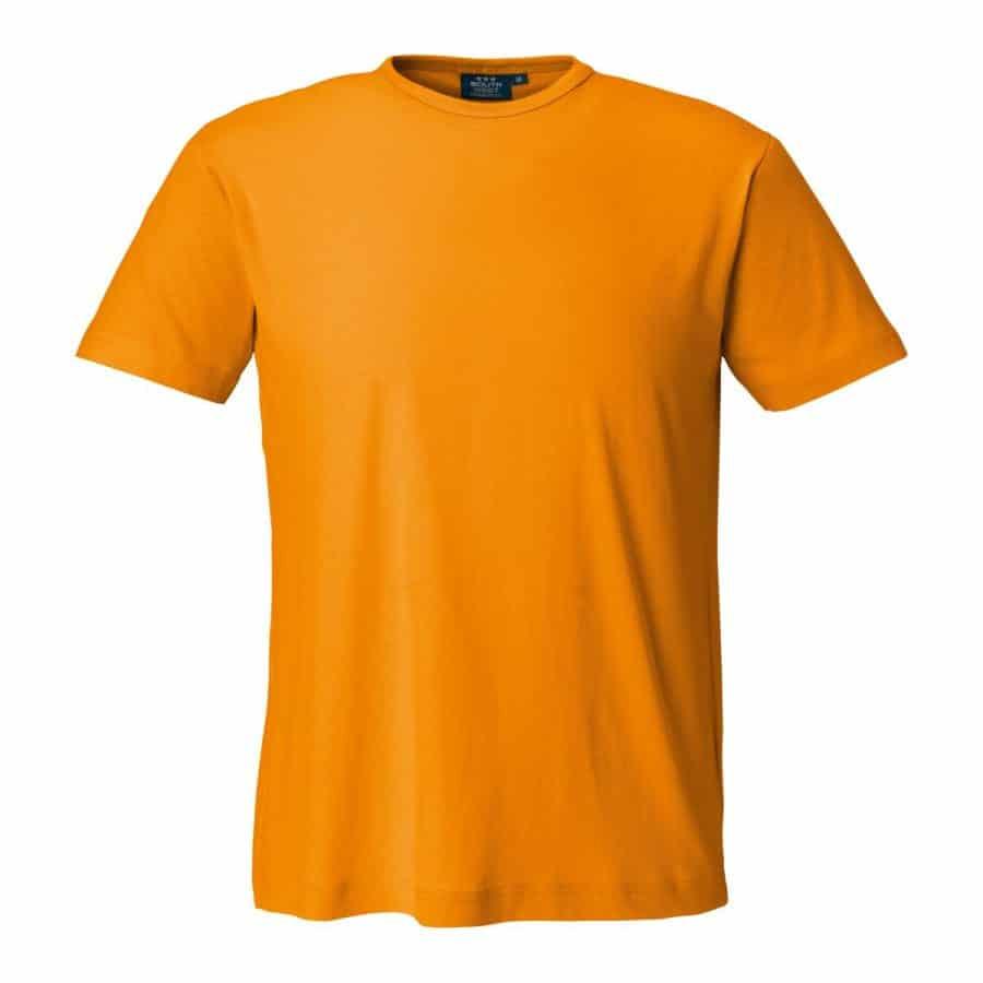 Segers T-skjorte herre Oransje