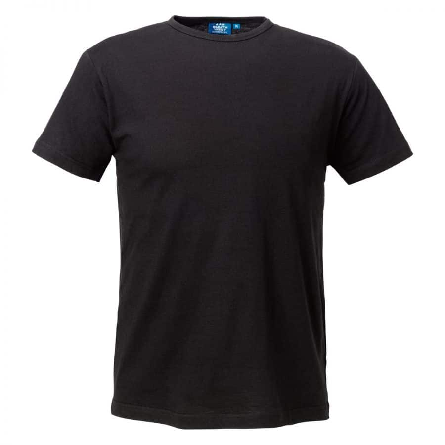 Segers T-skjorte herre Sort
