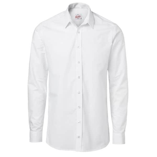 Skjorte Hvit Herre. lange ermer.