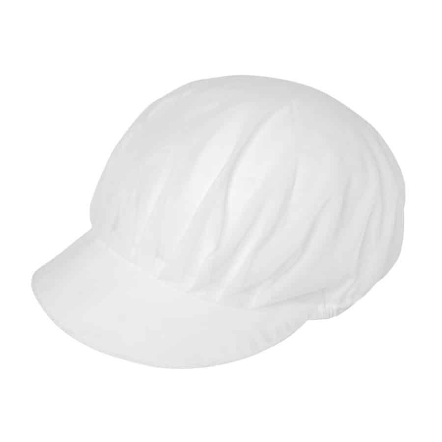 Caps m/nett Onesize Hvit