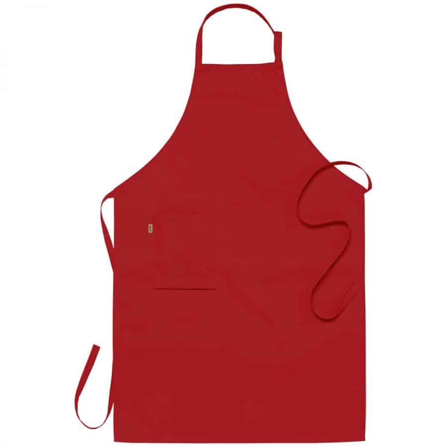 Smekkeforkle ca. 75x110 cm Rød