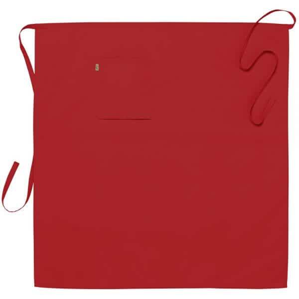 Midjeforkle ca95x100 cm Rød