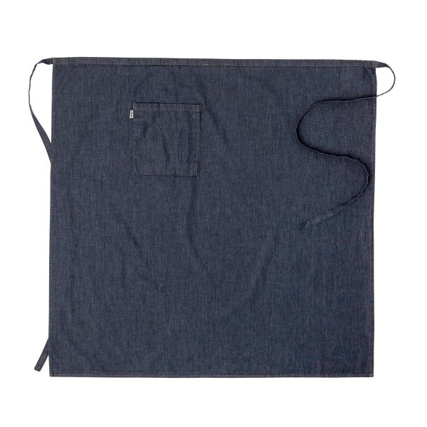 Midjeforkle ca95x100cm Mørkeblå