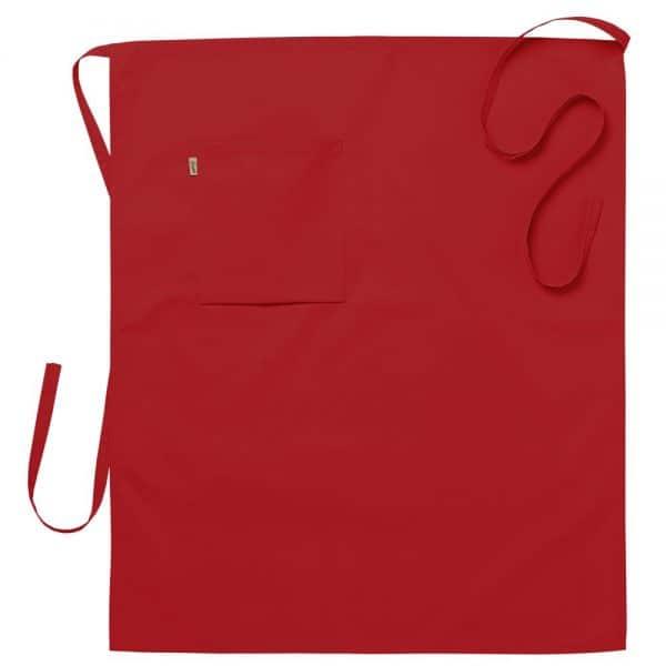 Midjeforkle ca. 75x85 cm Rød
