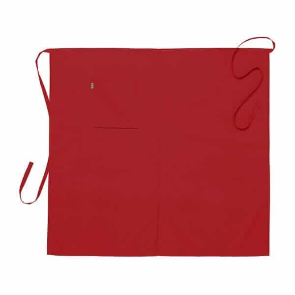 Midjeforkle ca. 100x95 cm Rød