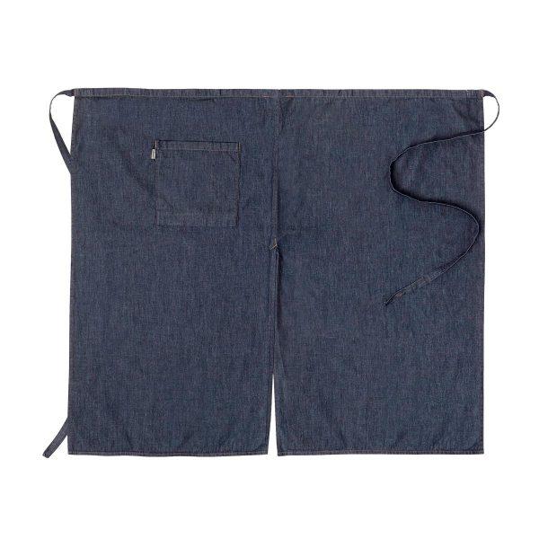 Midjeforkle ca. 100x95cm Mørkeblå