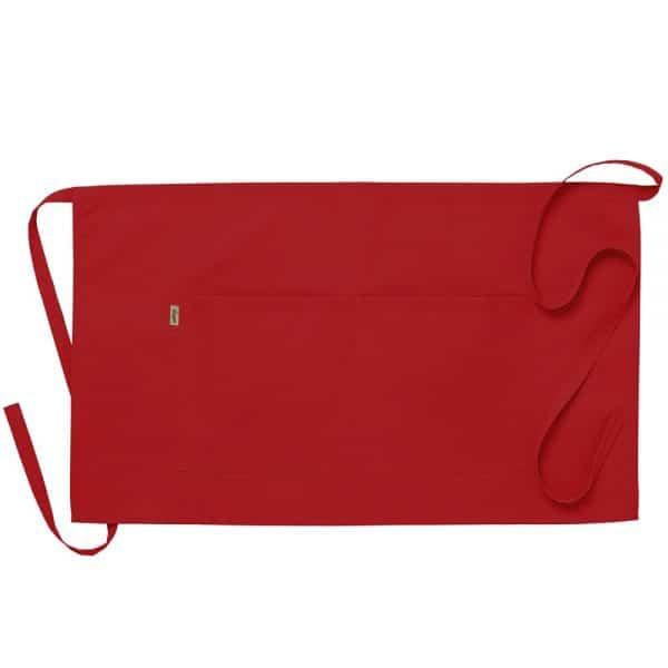 Midjeforkle ca75x43 cm Rød