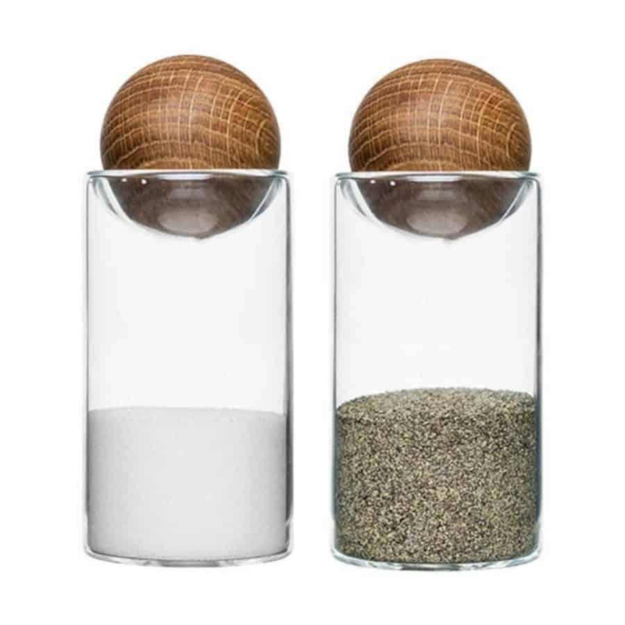 Oak Salt og Peppersett - Sagaform, Grill/ Grillutstyr, Kokkens Beste