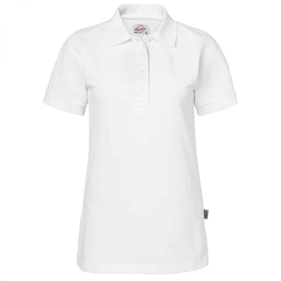 Pikéskjorte Dame, hvit - Segers, Polo/Pique, Kokkens Beste