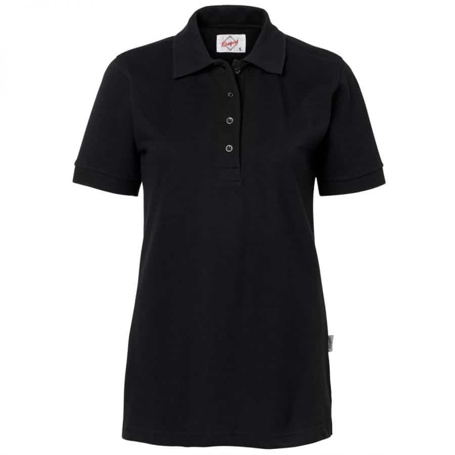 Pikéskjorte Dame, sort - Segers, Polo/Pique, Kokkens Beste
