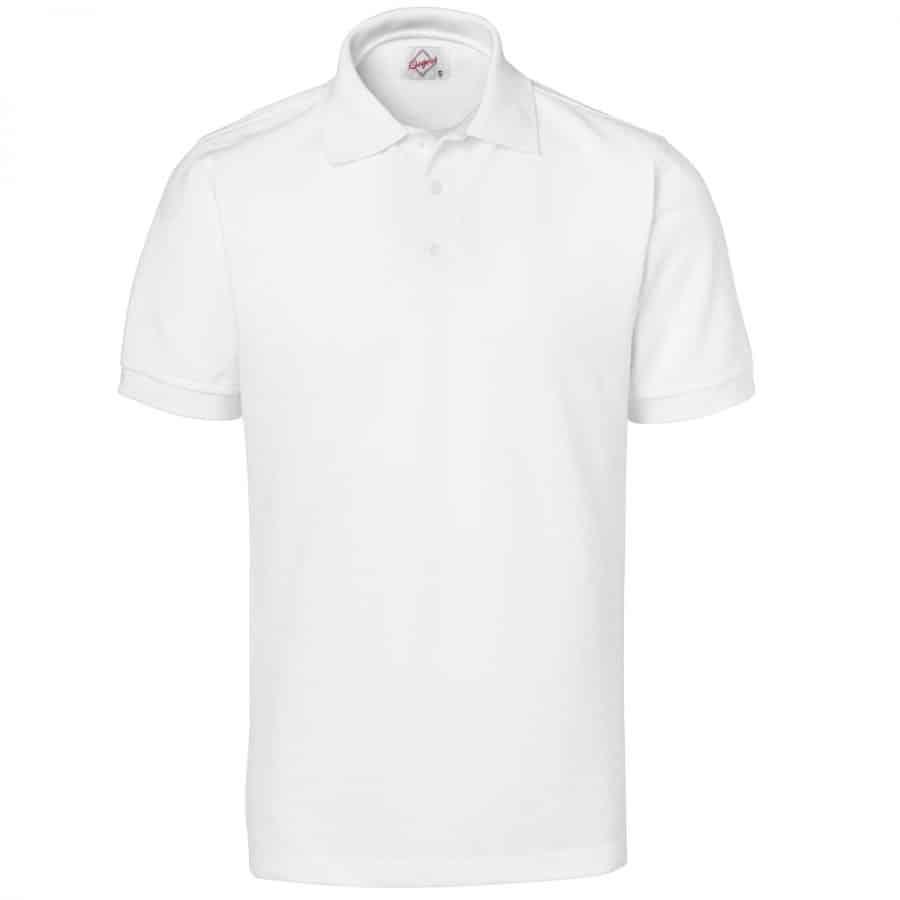 Pikéskjorte Herre, hvit - Segers, Polo/Pique, Kokkens Beste
