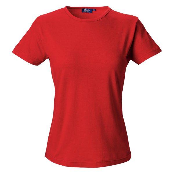 Segers T-skjorte dame Rød
