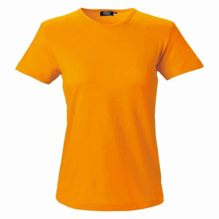 Segers T-skjorte dame Oransje