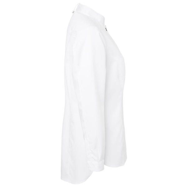 Hvit Segers Kokkeskjorte dame