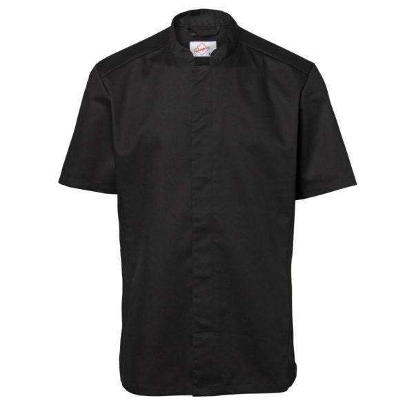 Kokkeskjorte korte ermer