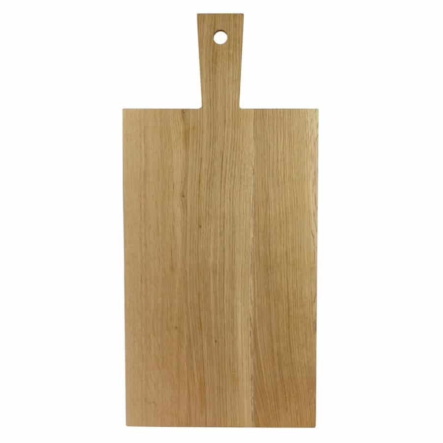 Wood skjærefjøl avlang