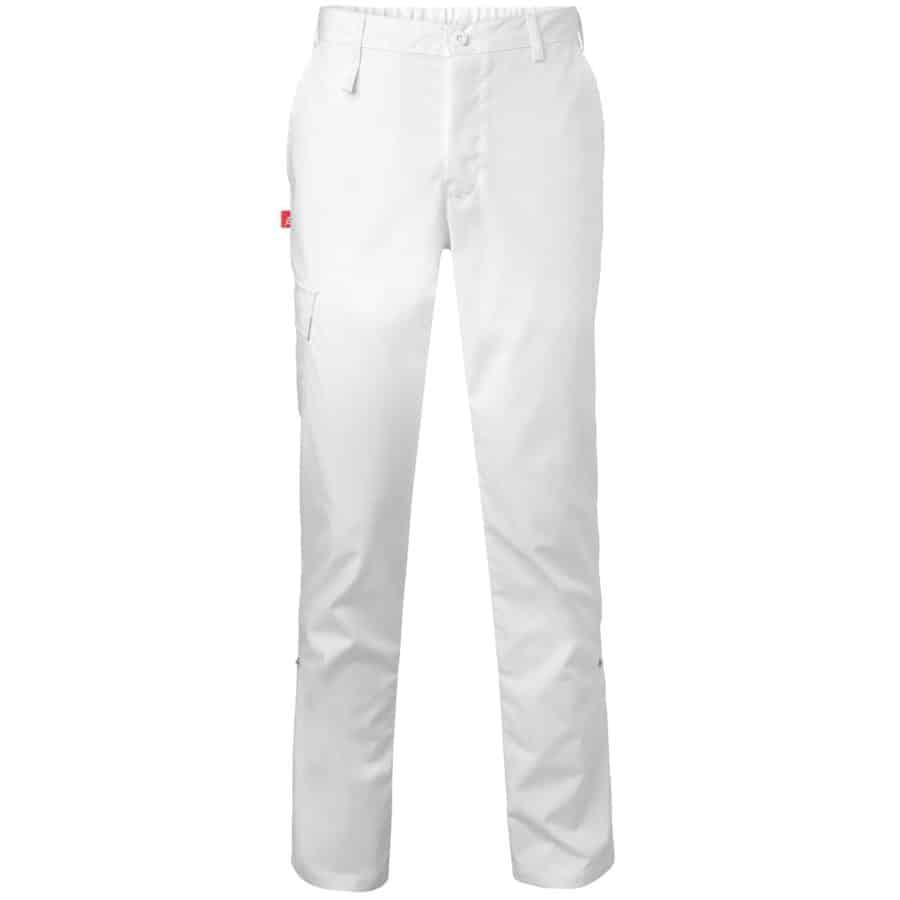 Bukse to-i-ett Unisex Hvit