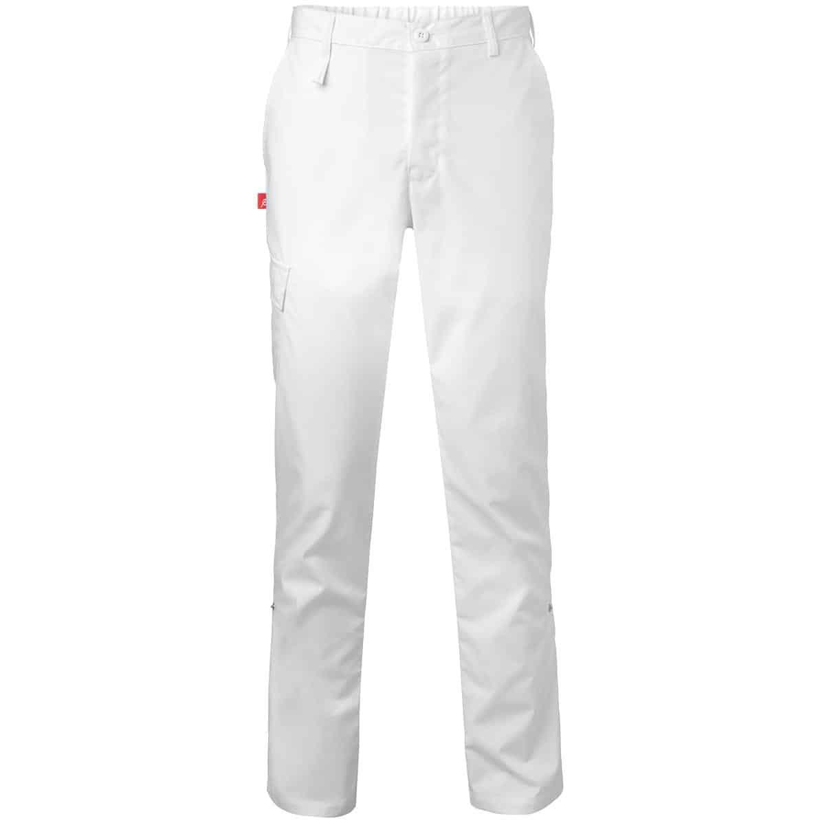 ed6ee1f8 Bukse to-i-ett Unisex Hvit – Kokkens Beste