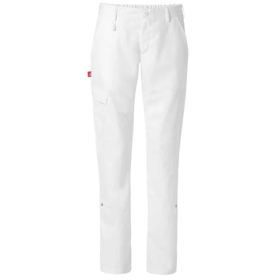 Bukse to-i-ett Dame Hvit