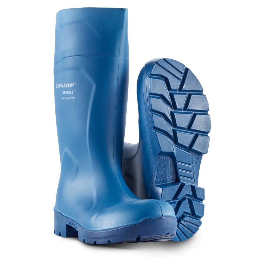 Vernestøvler Dunlop Purofort Multigrip Blå