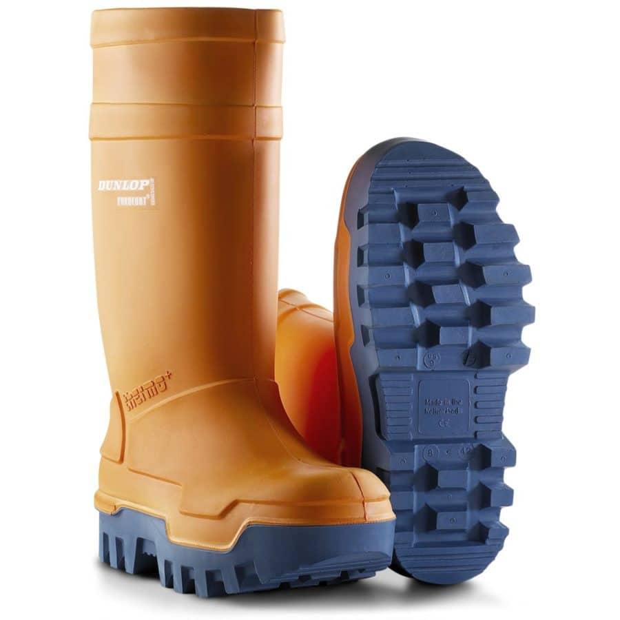 Vernestøvler Dunlop Purofort Thermo+ Oransje
