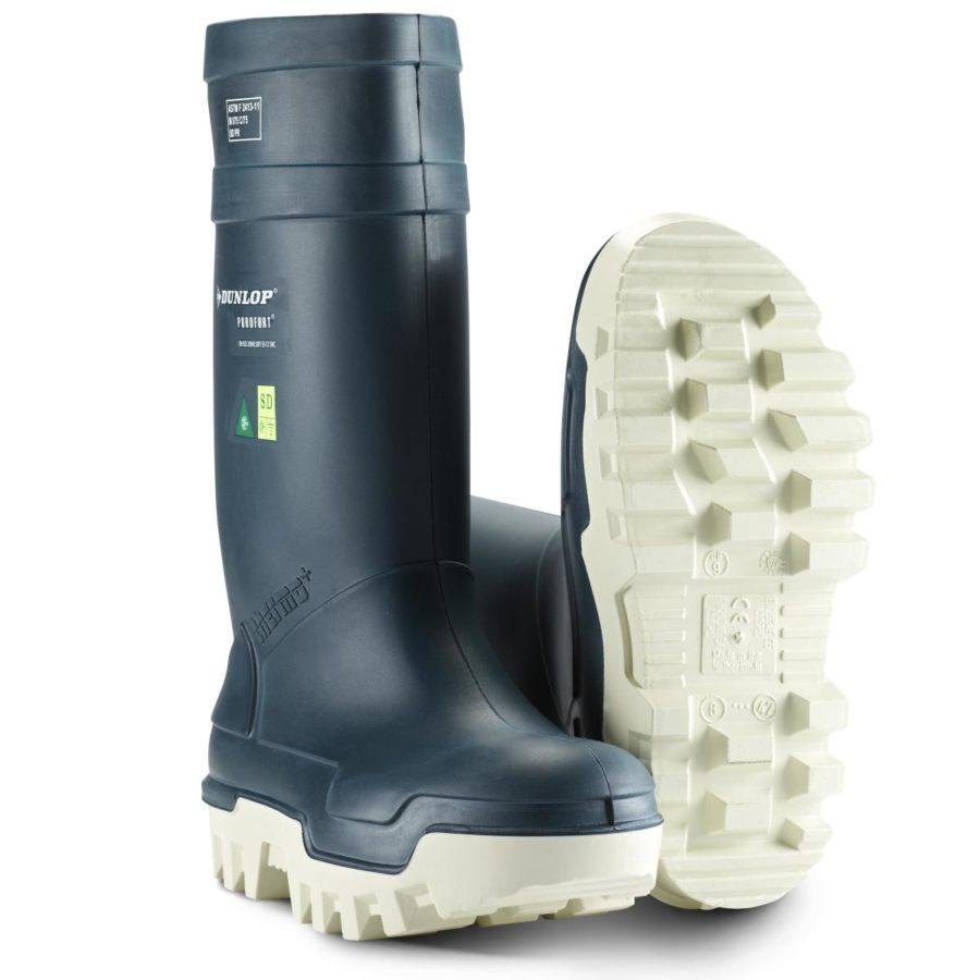 Vernestøvler Dunlop Purofort Thermo+ Blå