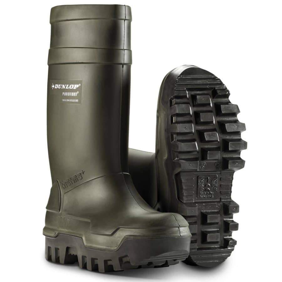 Vernestøvler Dunlop Purofort Thermo+ Grønn