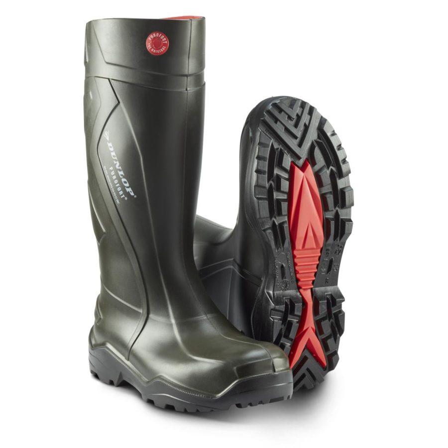Vernestøvler Dunlop Purofort Pluss