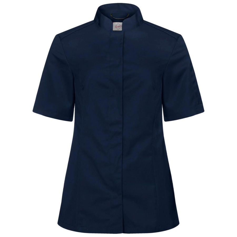 Kokkeskjorte Ulvira Korte Ermer