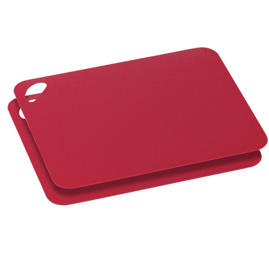 Skjærematte rød 2-pack 29cm fleksibel