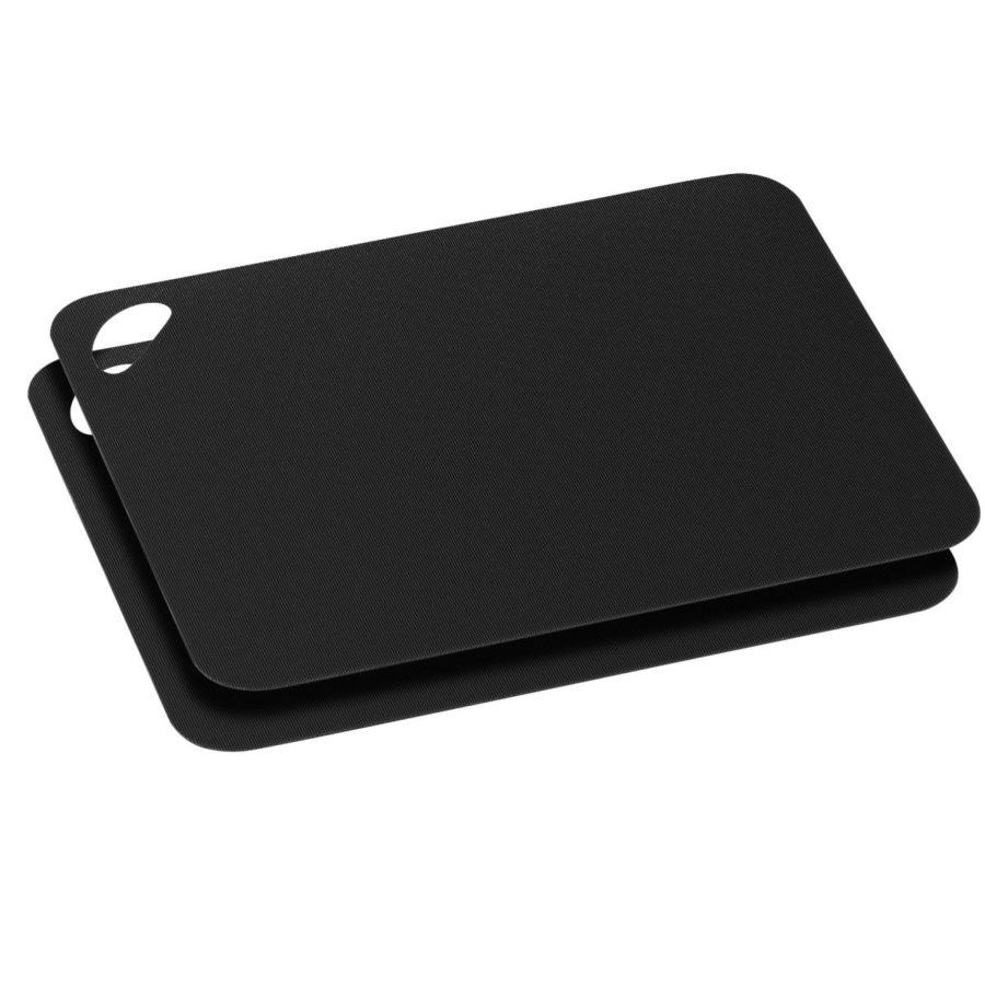 Skjærematte sort 2-pack 29cm fleksibel