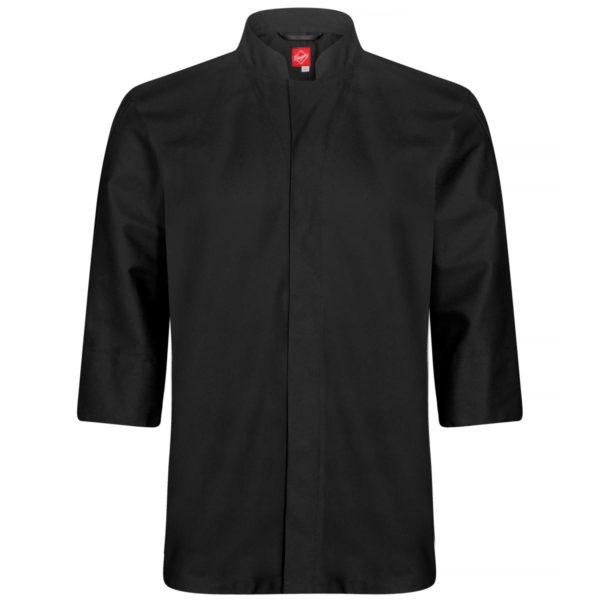 Kokkeskjorte sort