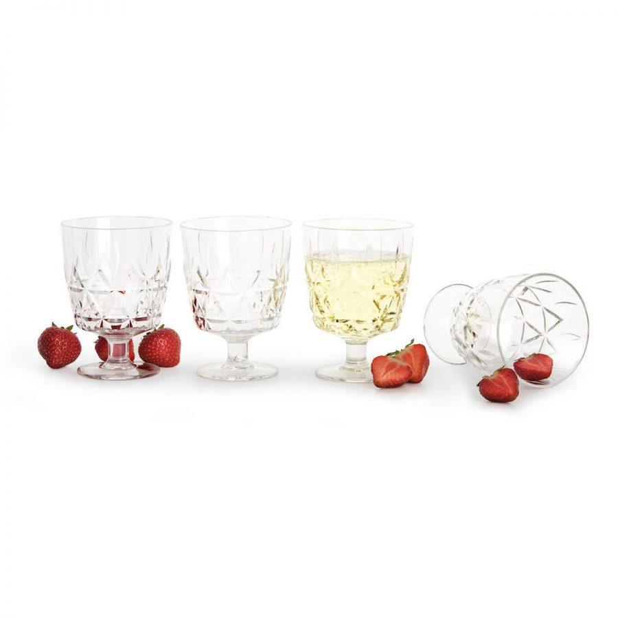 Piknik glass 4pk - , Glass, Kokkens Beste