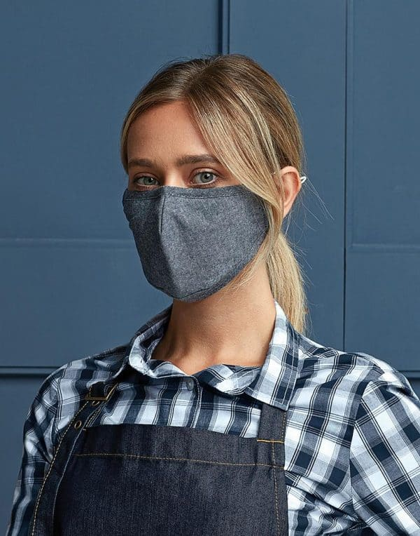 Premier Munnbind/ansiktsmaske indigo denim - Premier, Munnbind, Kokkens Beste