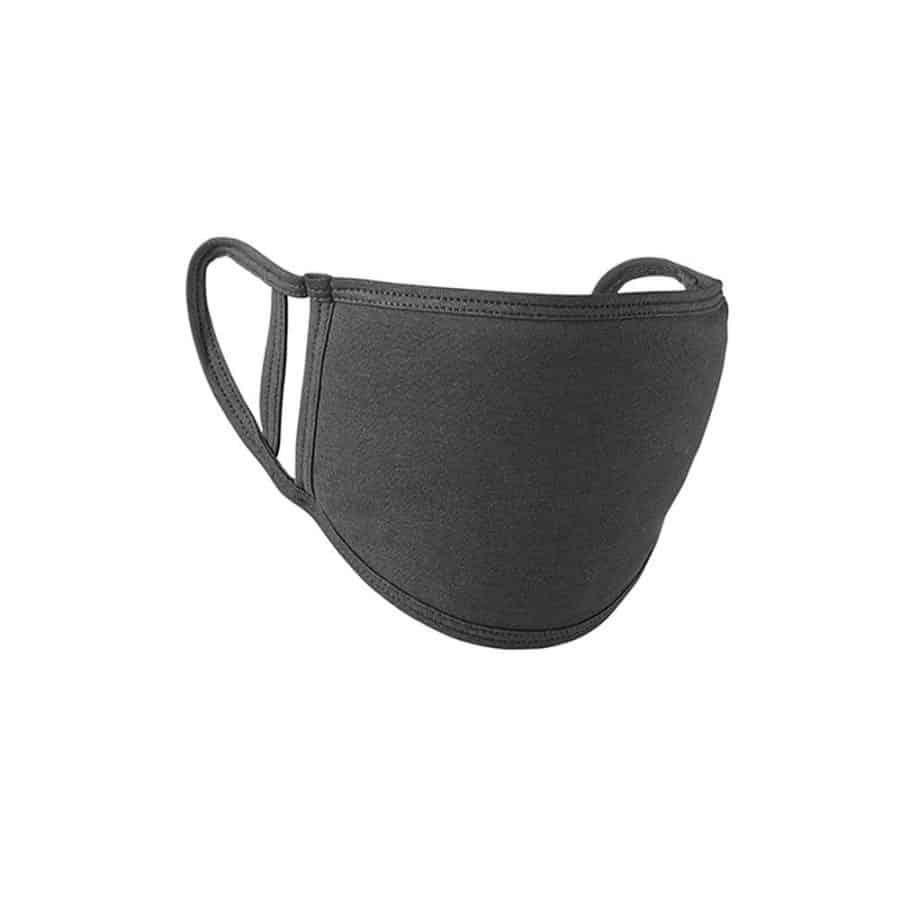Premier Munnbind/ansiktsmaske mørk grå 5pk