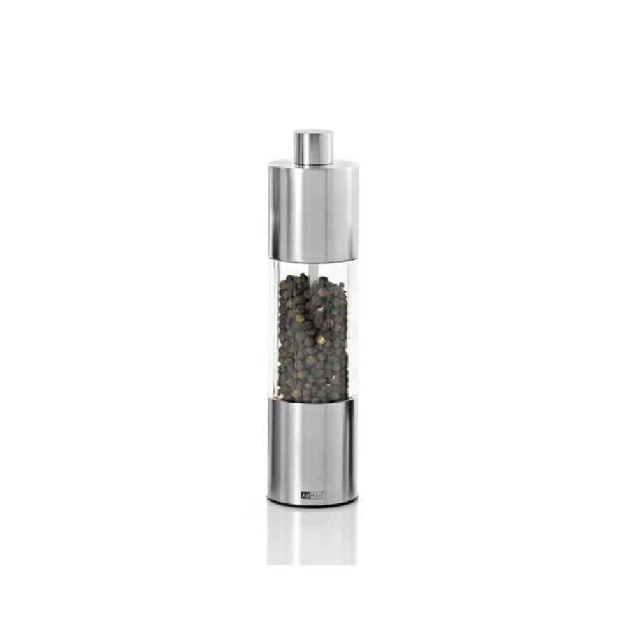 Adhoc – Krydderkvern stål - AdHoc, Salt og pepperkverner, Kokkens Beste