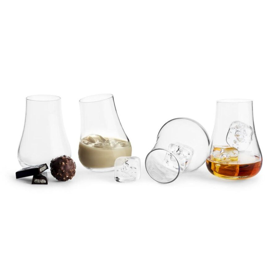 Club Avec-glass 4pk - Sagaform, Gaver & interiør, Kokkens Beste