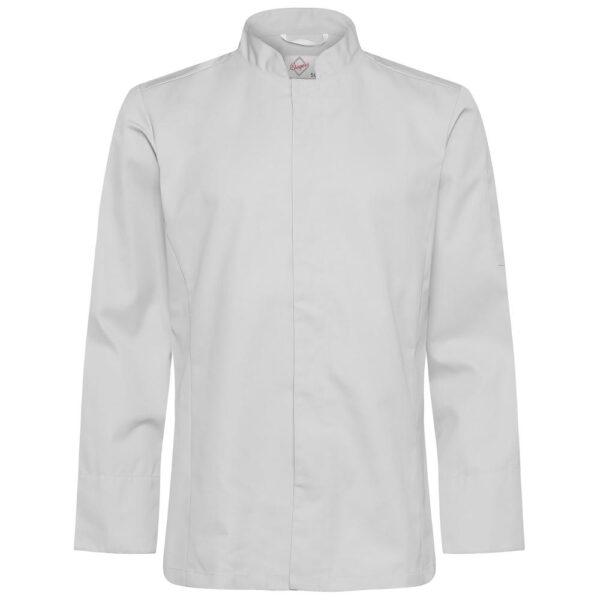 Kokkeskjorte Varg lysegrå