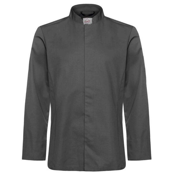 Kokkeskjorte Varg grå