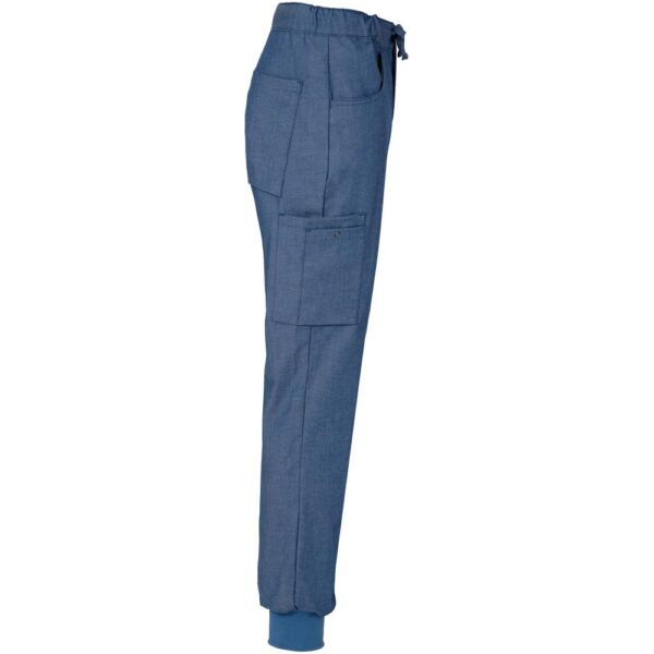 Unisex Bukse Denimblå Segers - Segers, Bukser Segers, Kokkens Beste