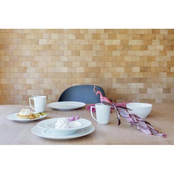 Contour Krus 6pk hvit - Modern House, Servise, Kokkens Beste