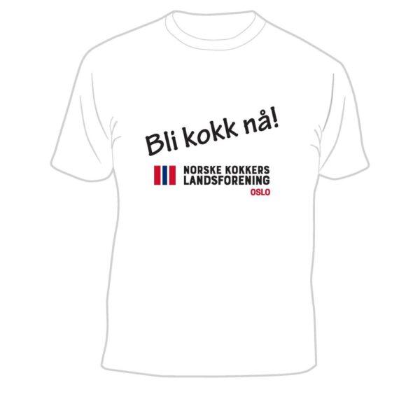 T-skjorte Bli kokk nå! NKL