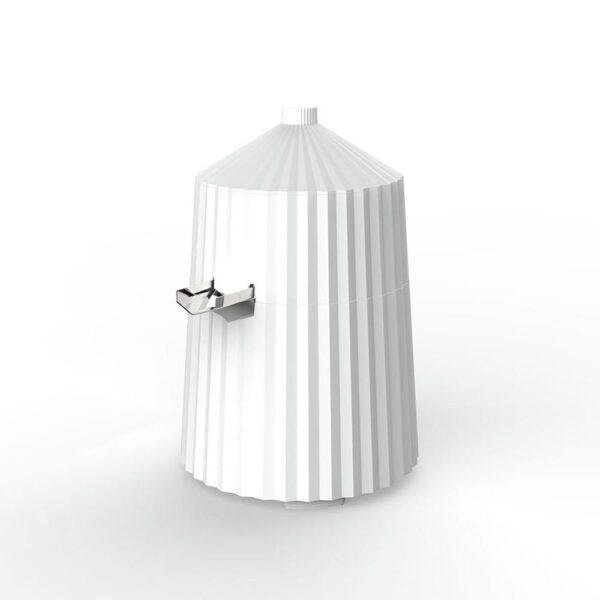 Alessi Plissé Sitruspresse hvit - Alessi, Kjøkkenutstyr, Kokkens Beste