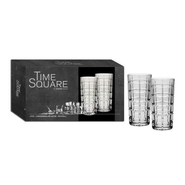 Time square Longdrinkglass - Modern House, Glass, Kokkens Beste