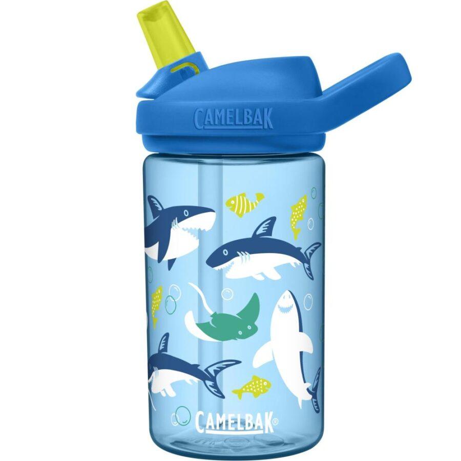 Camelbak Eddy+ Kids Drikkeflaske blå/multi - Camelbak, Drikkeflasker, Kokkens Beste