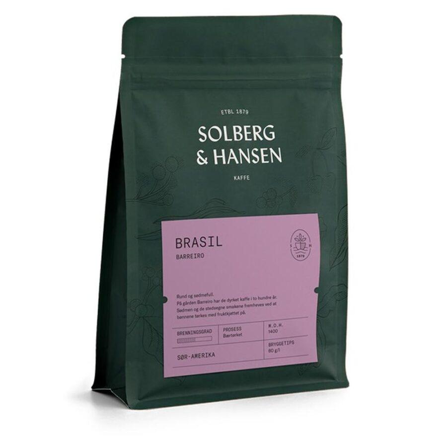 Kaffe Fazenda Barreiro 250g Brasil - Solberg & Hansen, Kaffe, Kokkens Beste