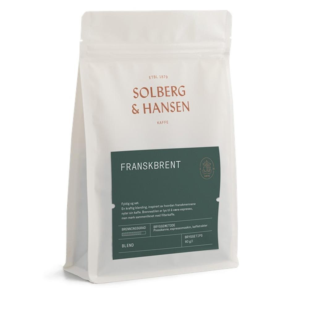 Kaffe Franskbrent 250g - Solberg & Hansen, Kaffe, Kokkens Beste